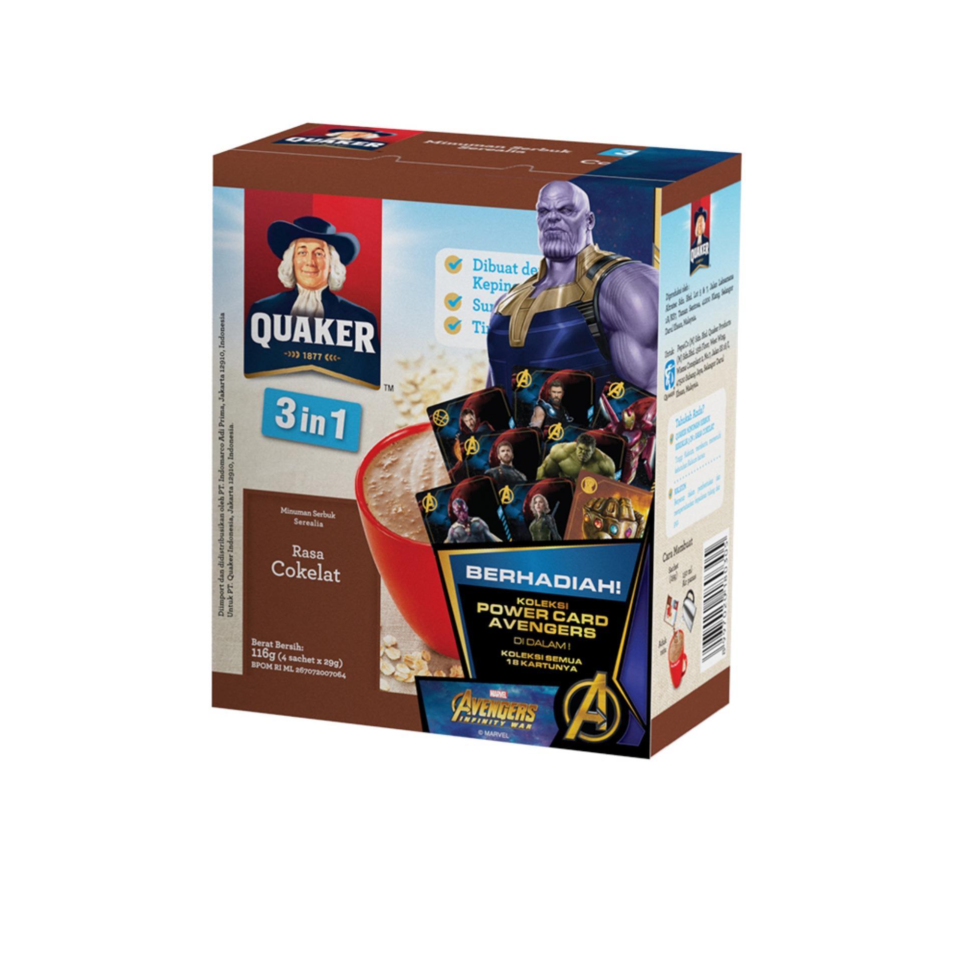 Kelebihan Quaker Instant Oatmeal Value Pack 1 2kg Gwp Terkini Jar Carton 12 Pcs P 12kg 4