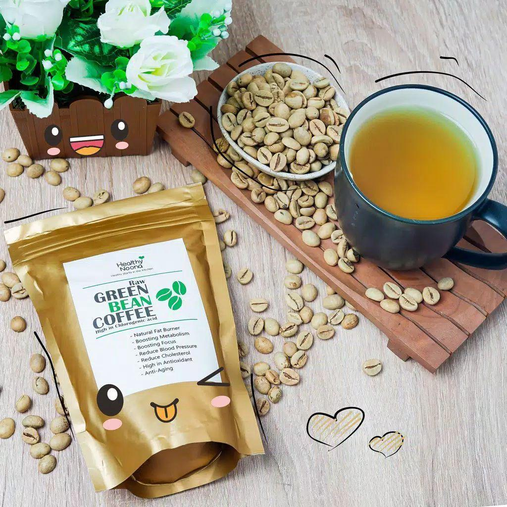Kopi hijau premium/green coffee original /biji kopi hijau 250 gram