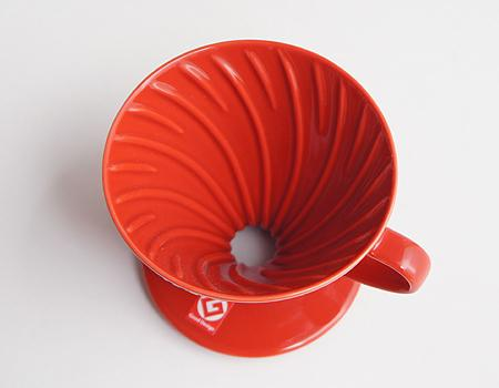 Detail Gambar VD-01R | Hario V60 01 RED + Sendok Takar Dripper Pour Over 1-2 Cups Terbaru