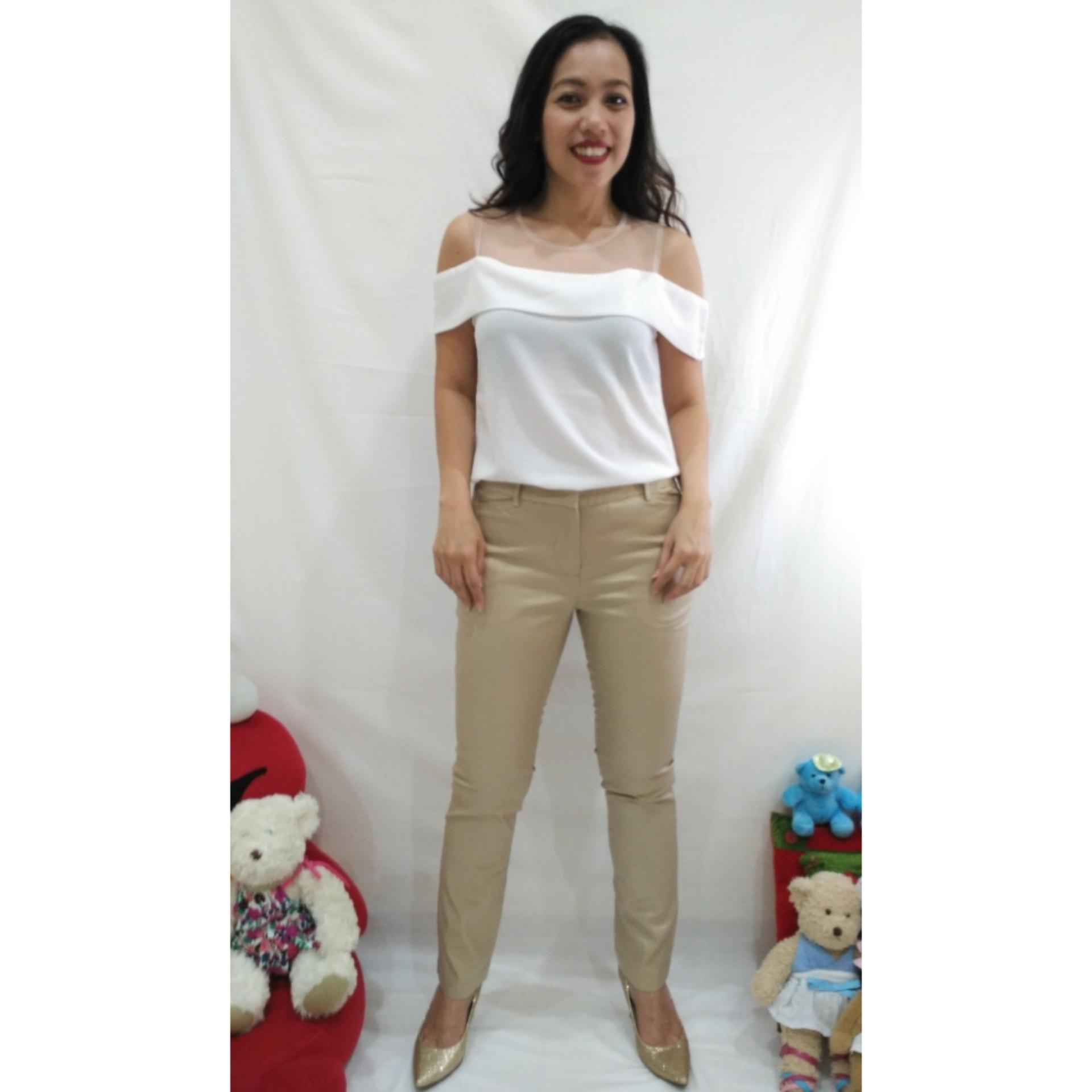 Cek Harga Baru Alana Chino Khaki Pants Wanita Khaki Terkini Situs