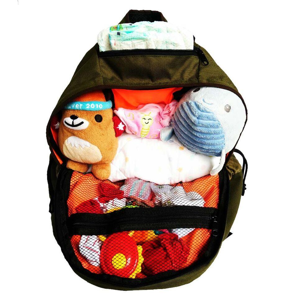 Kelebihan Babygo Inc Babygoinc Metro Backpack Diaper Bag Baby Go Travelling Pouch Organiser Tas