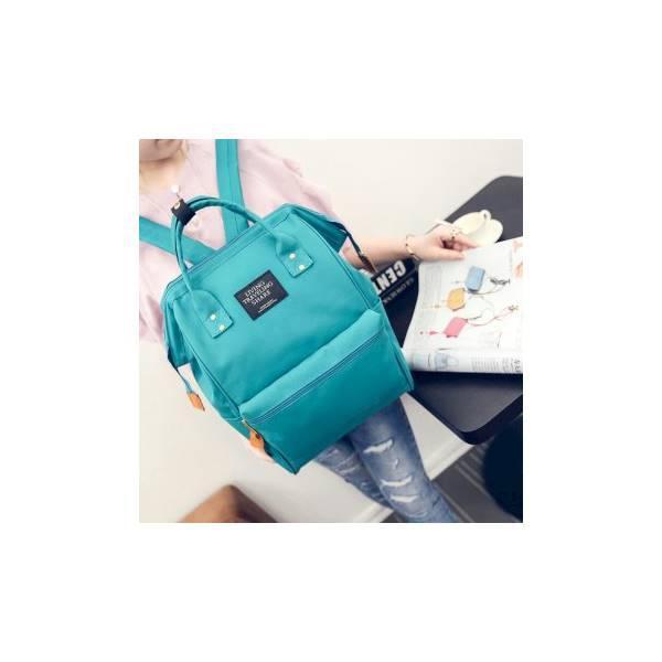 Tas Kanvas Anello / Ransel / Handbag / Tas Distro / Backpack / 2 In 1