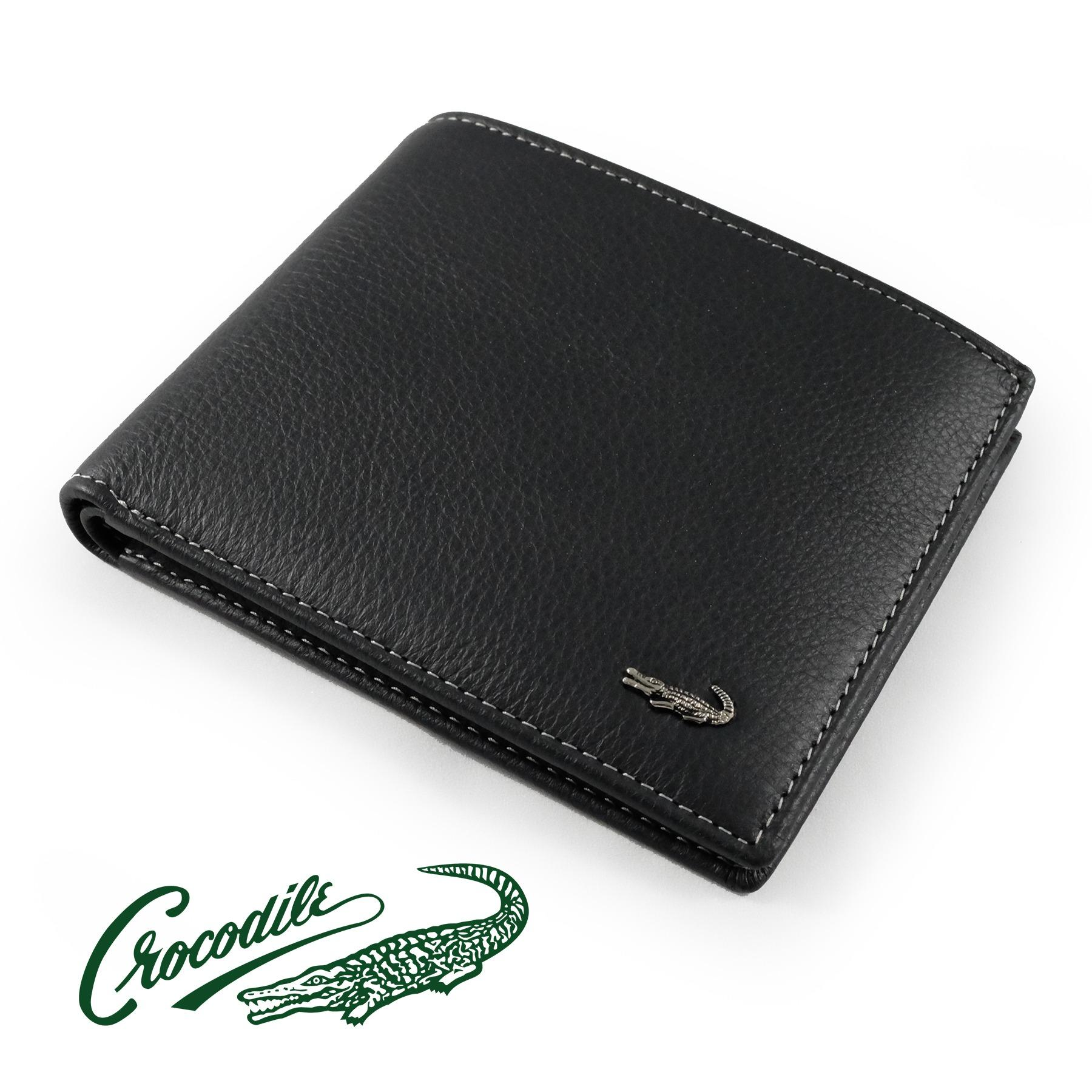 0203-11011 Dompet Pria Men Wallet Leather Kulit Crocodile Original