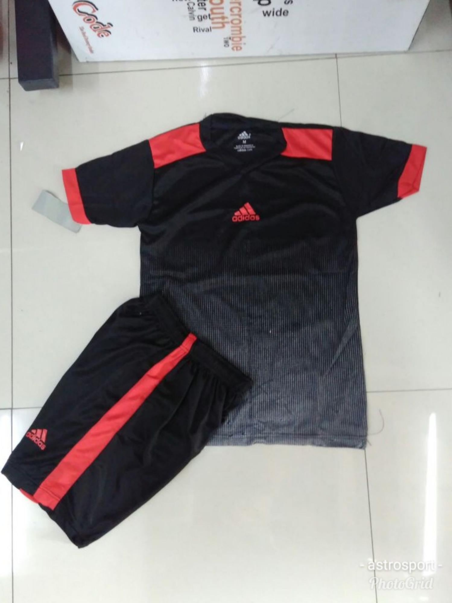 Fitur Promo Setelan Futsal Sepakbola Adidas Ad02 Baju Kaos Celana Tshirt 03 Anak Dan Spec