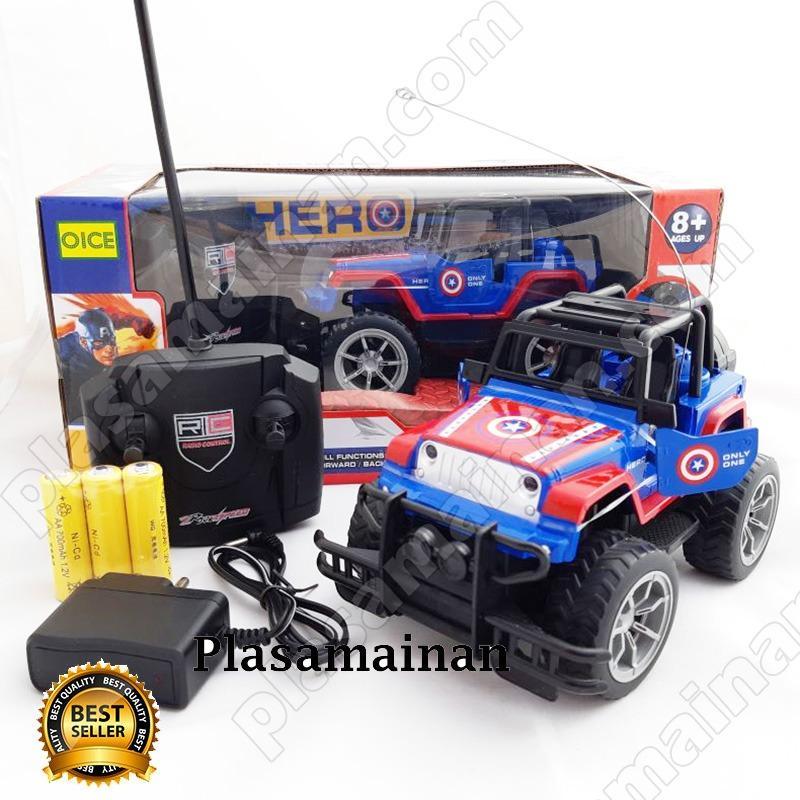 Toko Aa Toys Mainan Mobil Remote Control Captain America 1 20 Banten