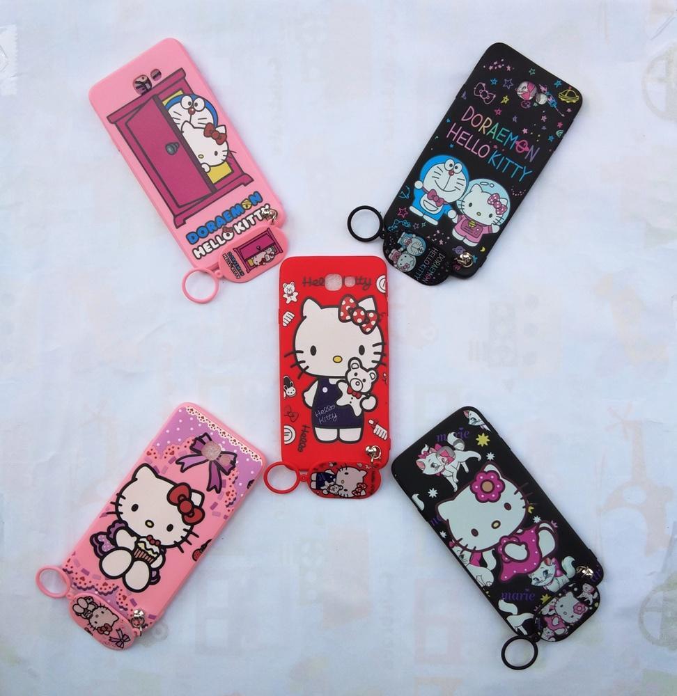 Detail Gambar Samsung J7 Prime Softcase Gambar Hello Kitty Free Gantungan Lucu Terbaru