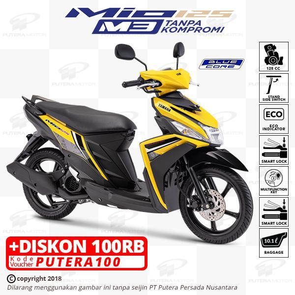 Diskon Besar Yamaha Mio M3 125 New Colour Otr Jkt Tgr Reviews