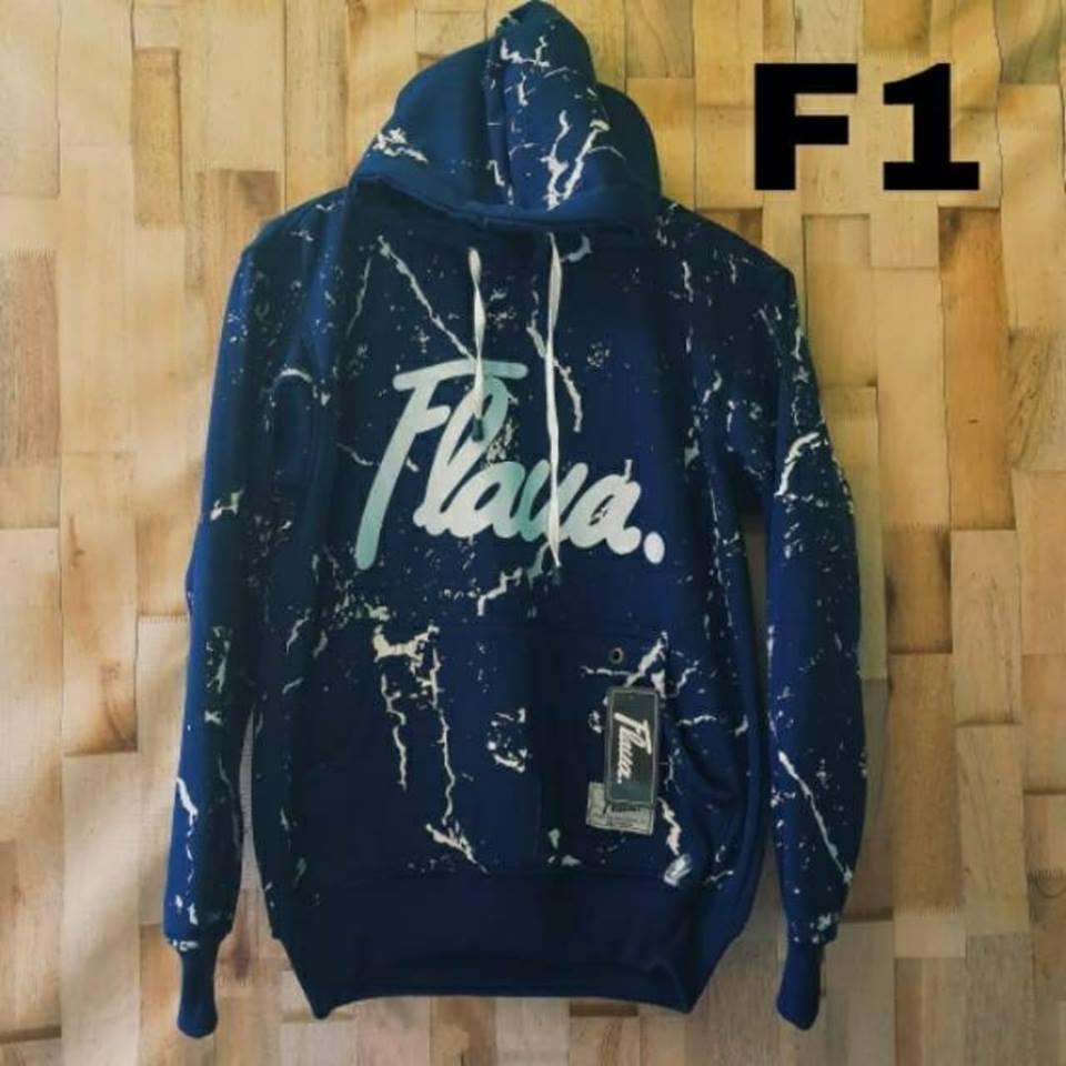 Features Valencia Jaket Hoodie Flava Original Black Thunder Fit Sweater Ori Forwad Pria Navy