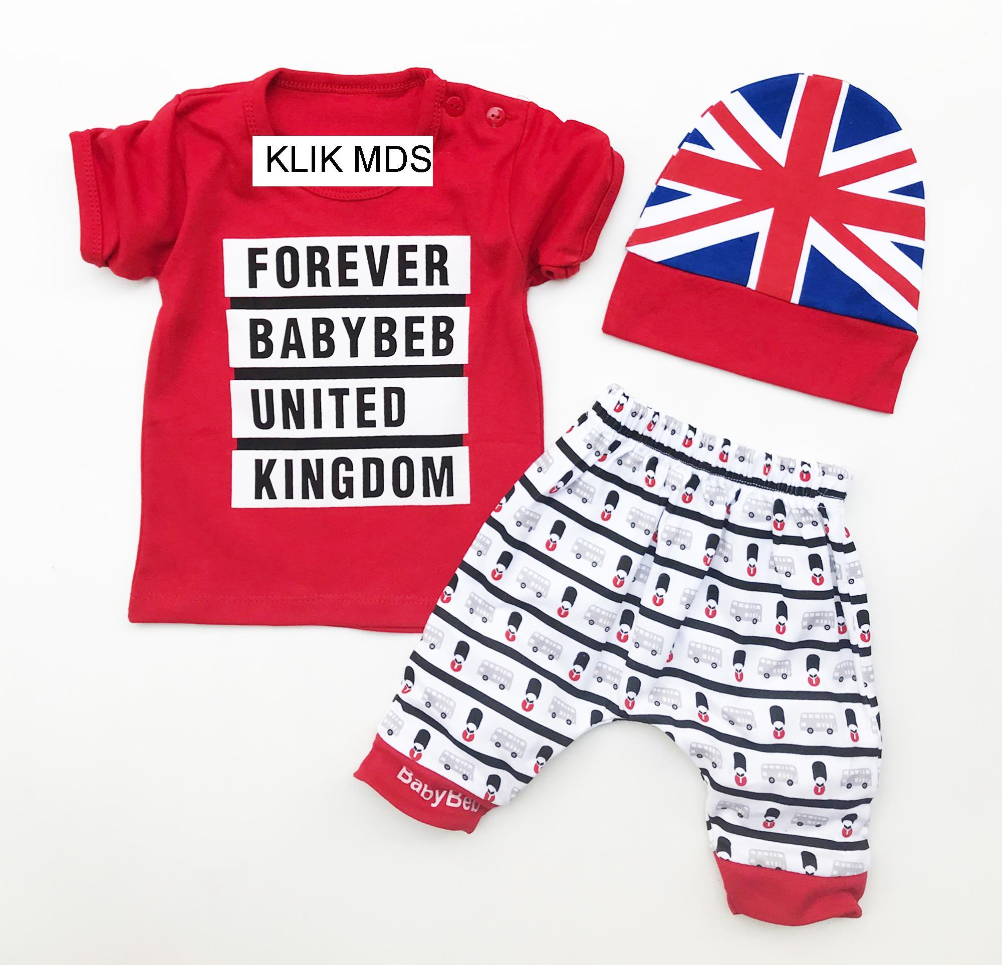 Fitur Klik Mds Baju Bayi Anak Setelan Atasan Dan Celana Motif Karakter Forever Babybeb United Kingdom
