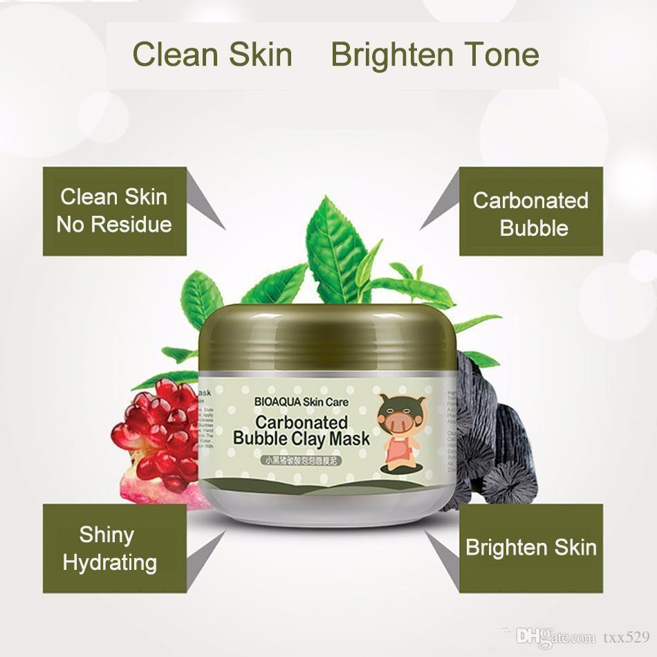 Fitur Carbonated Bubble Clay Mask Masker Bioaqua Dan Harga Matrix Biolage Deep Smoothing Serum Vitamin Rambut 2