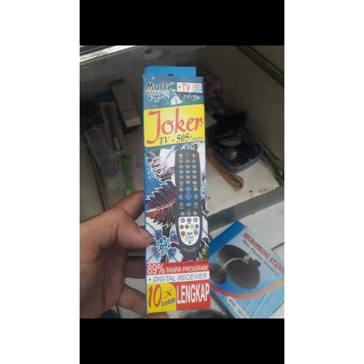 Joker remot SEMUA MEREK BONUS BATERAI REMOTEcontrol televisi remote original tv multi universal tabung lcd led serba guna EHS GRATIS ONGKOS KIRIM KEMANA AJA BONUS