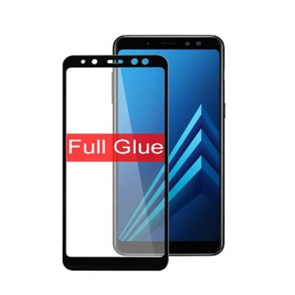 Features 5d Anti Gores Tempered Glass 5d For Samsung A8 2018 Full