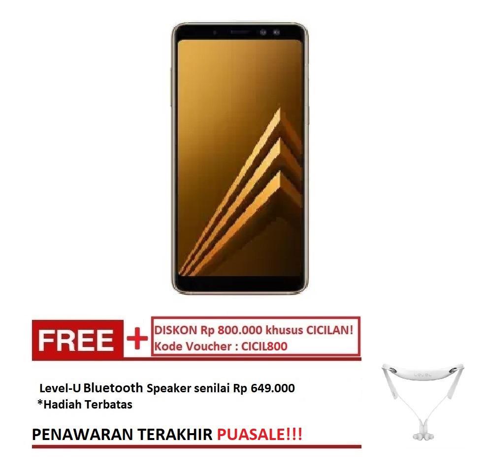 Samsung Galaxy A8+ SM-A730 - Gold