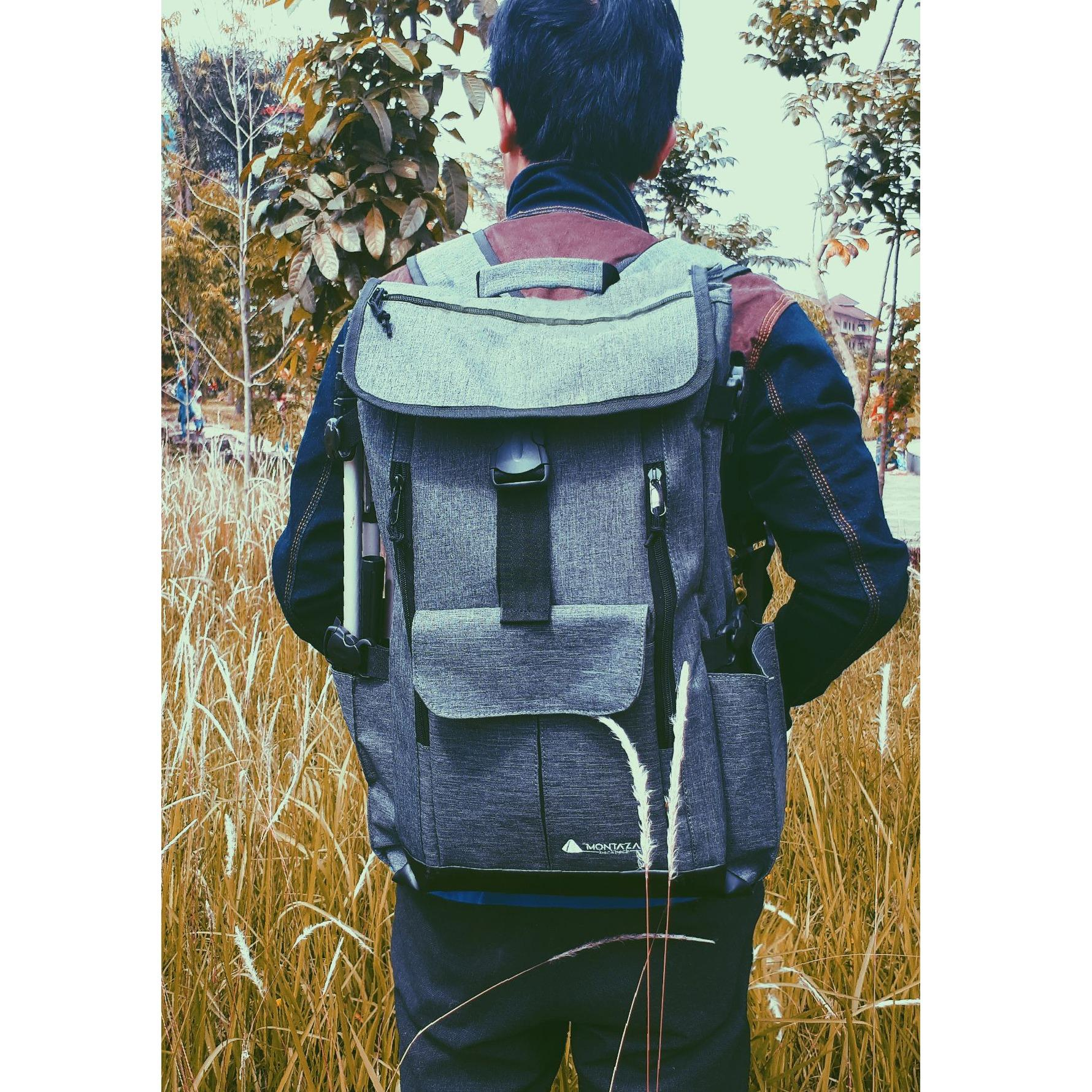 Harga Montaza Tas Ransel Laptop Roll Top Hiking Mini Carrier 30 Liter Camping Bag Gunung Mp 001 Yang Murah