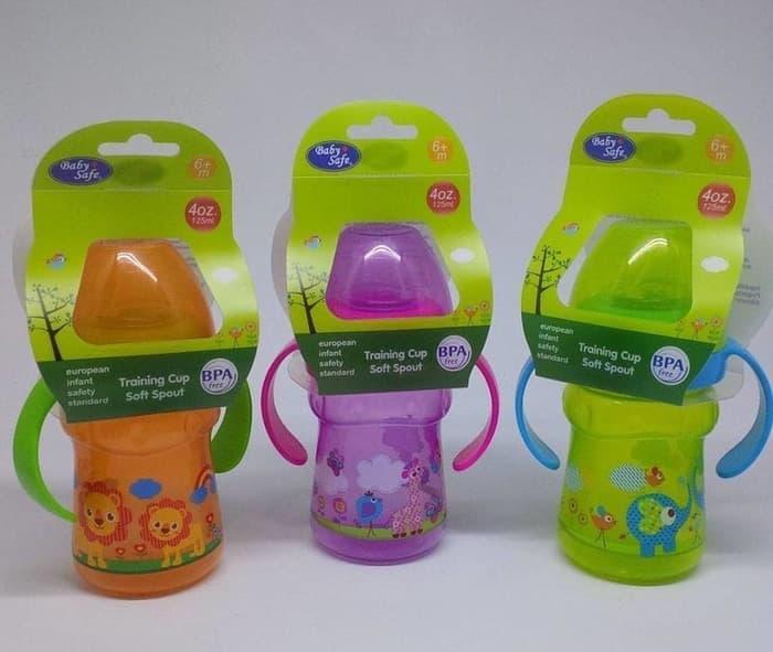 ... Baby Safe Feeding Bottle 250ml with Handle/Botol Susu Bayi dengan Gagang 250ml - 3
