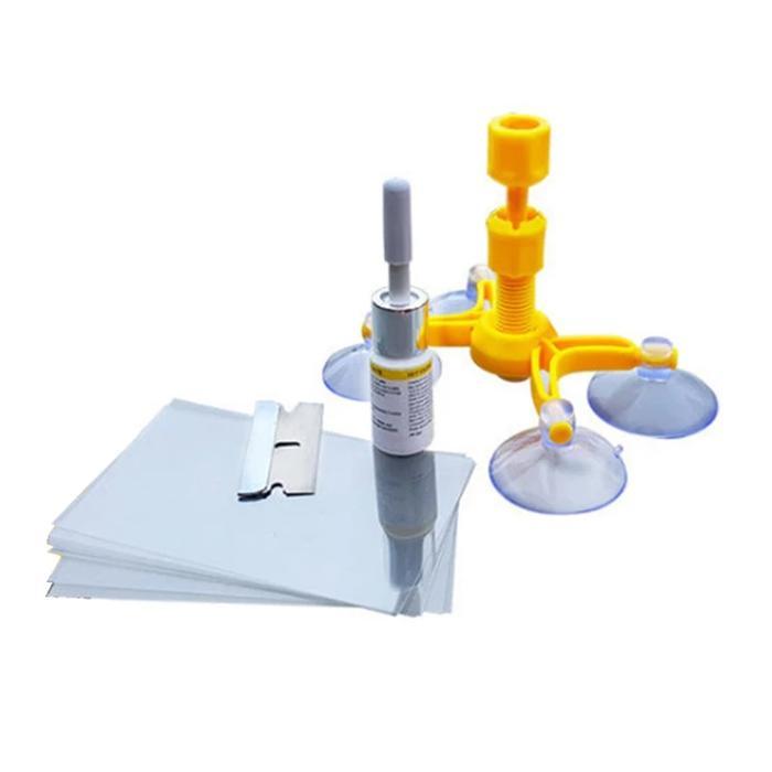 Windshield Repair Kit - Solusi Kaca Retak - Lem Kaca