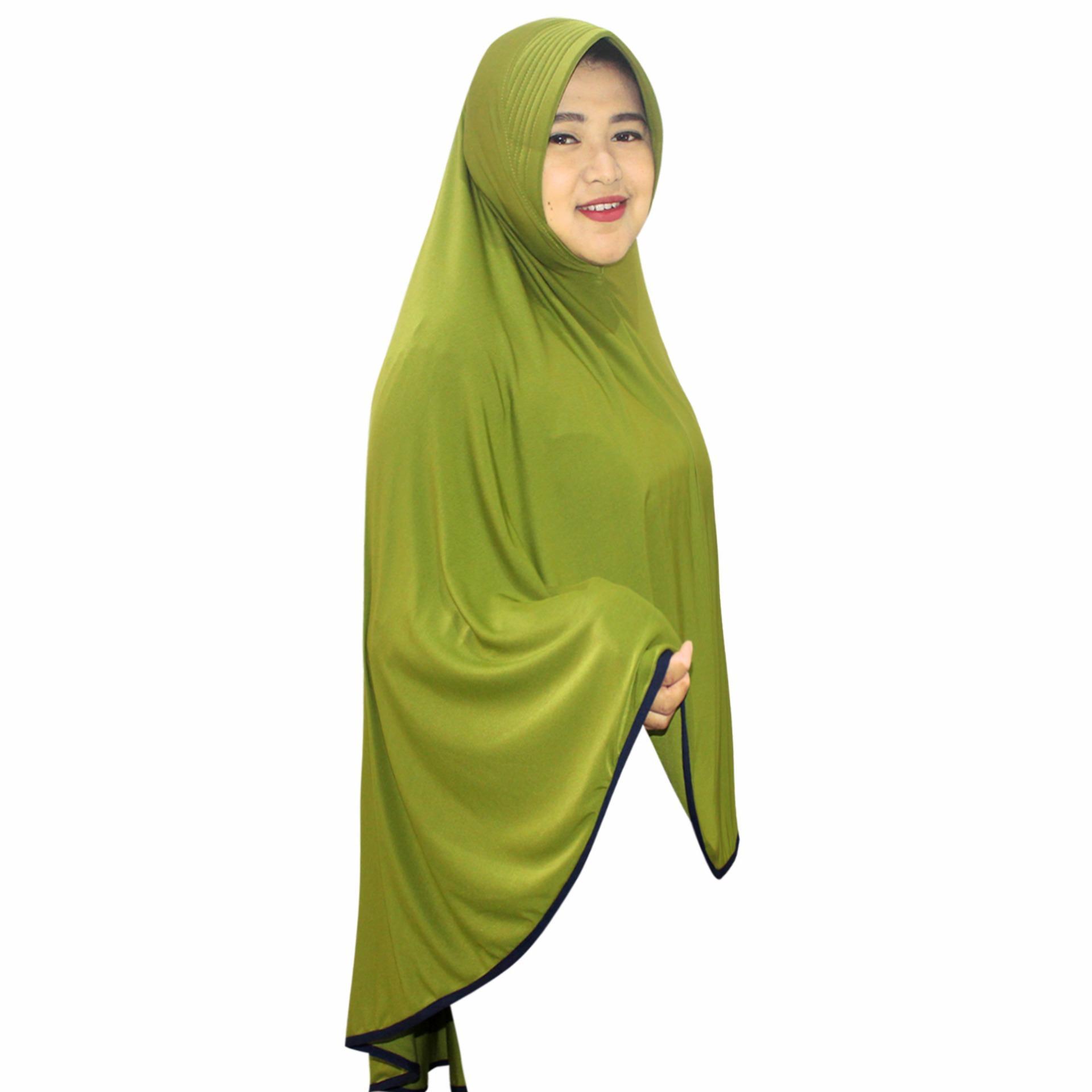 Features Khimar Bergo Hijab Jilbab Syari Ainun Dan Harga Terbaru Syar I Farida Instan Panjang