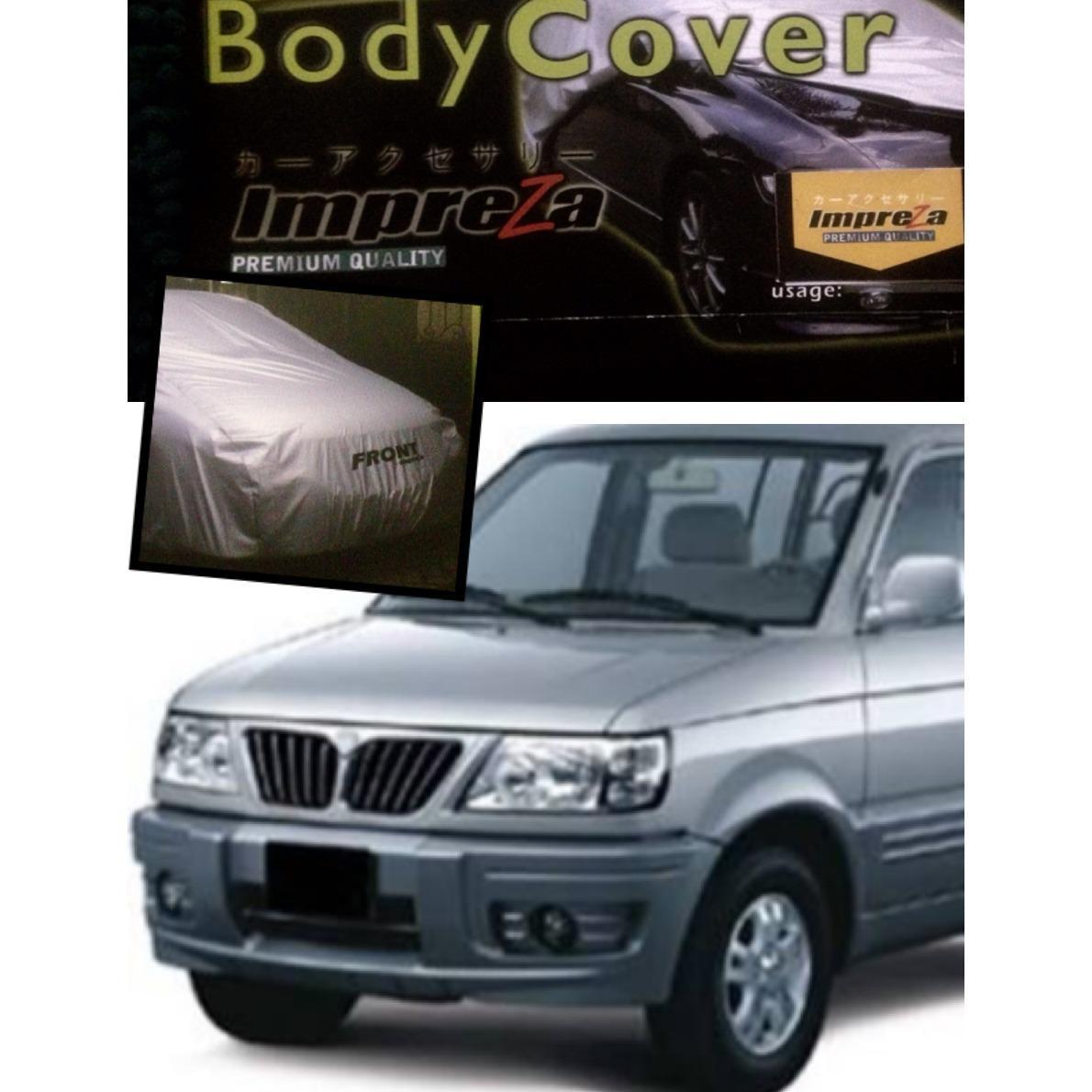Diskon Impreza Body Cover Mobil Mitsubishi Kuda Grey Selimut Mobil Pelindung Mobil Impreza