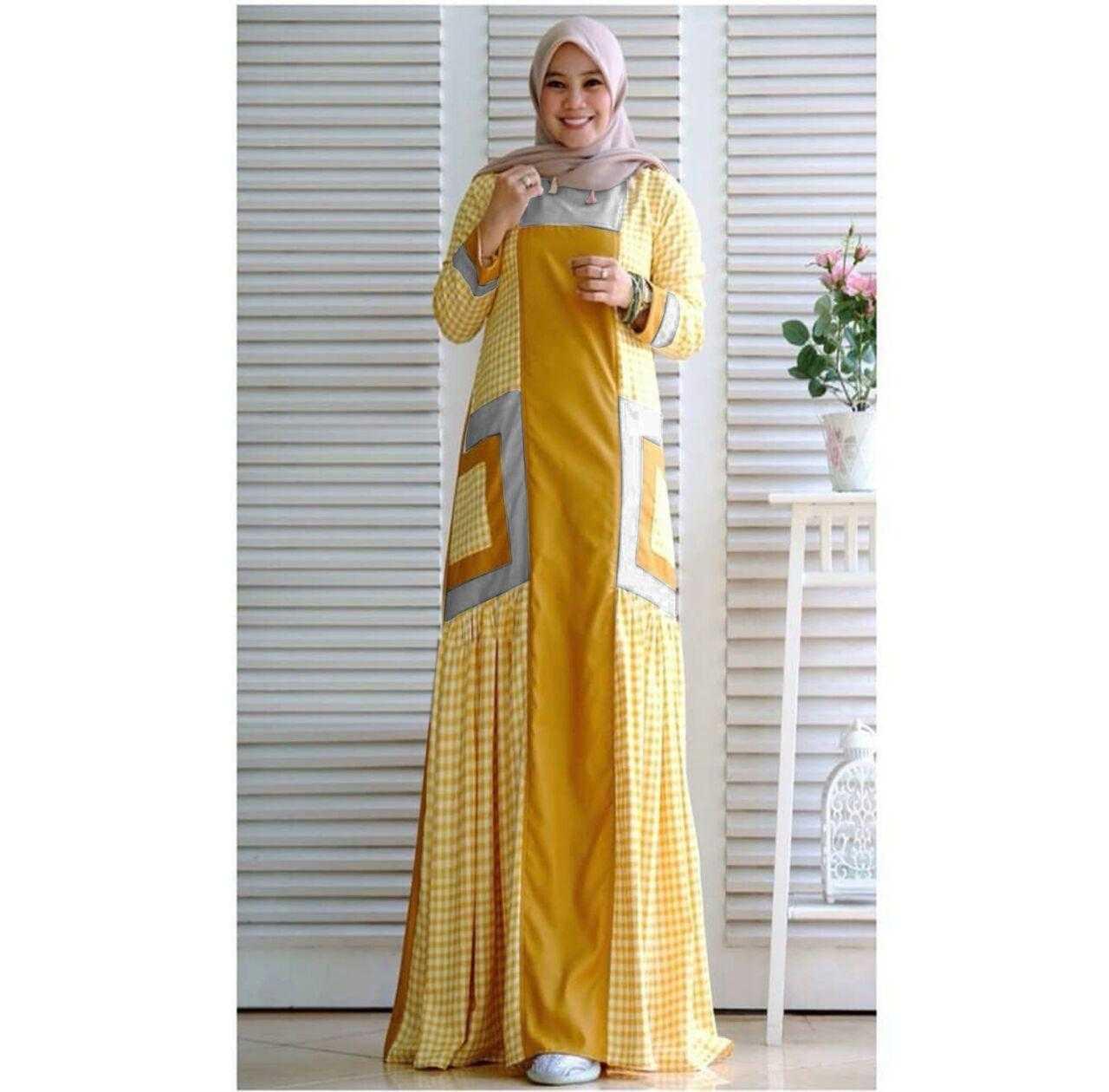 Features Gamis Syari Kezzia Baju Muslim Wanita Terbaru 2018 Gamis