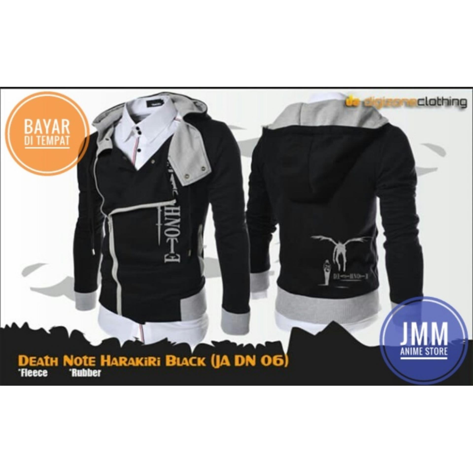 Review Jaket Harakiri Death Note Black Hoodie Best Seller