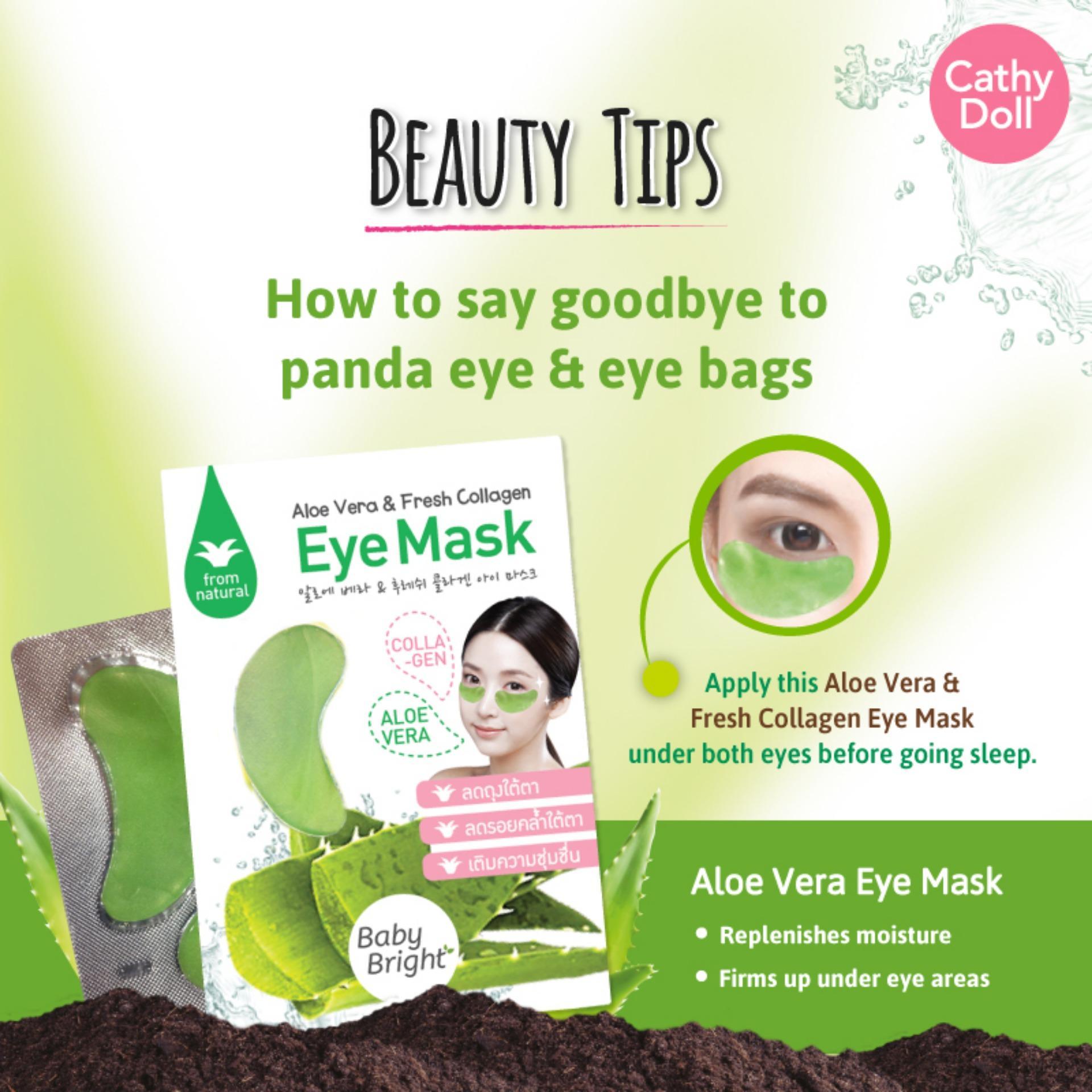 Kehebatan Baby Bright Aloe Vera Eye Mask Dan Harga Update Bio Aqua Masker Wajah Jaman Now Gambar Produk Lengkap