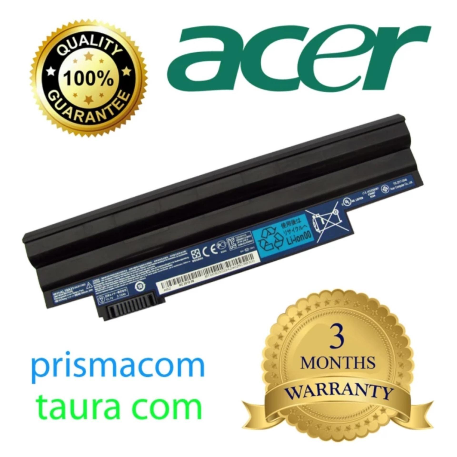 Daftar Harga Laptop Acer Aspire One 722 Terbaru Maret 2018 Keyboard 721 753 Series Hitam Original Baterai D255 D257 D260 D270 Black Al10a31
