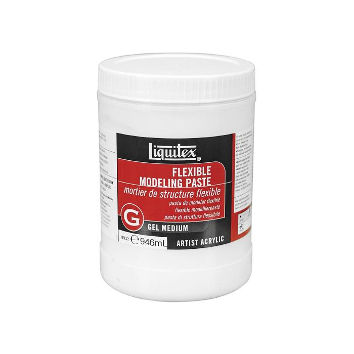 TERMURAH LIQUITEX Flexible Modeling Paste 946ml Artist Acrylic Gel Medium Alat Seni Lukis