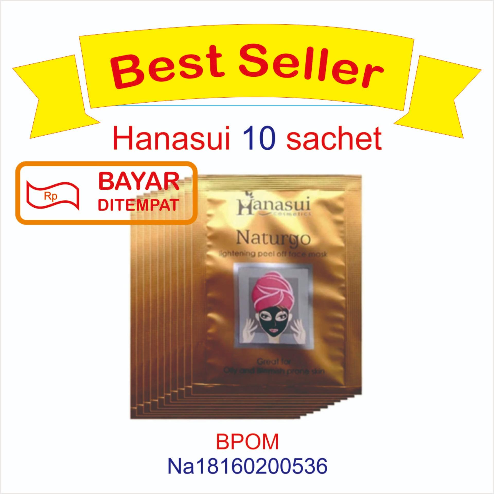 Fitur Hanasui Naturgo Masker Lumpur Pengangkat Komedo Original Bpom Paket 5 Pcs 10 Sachet