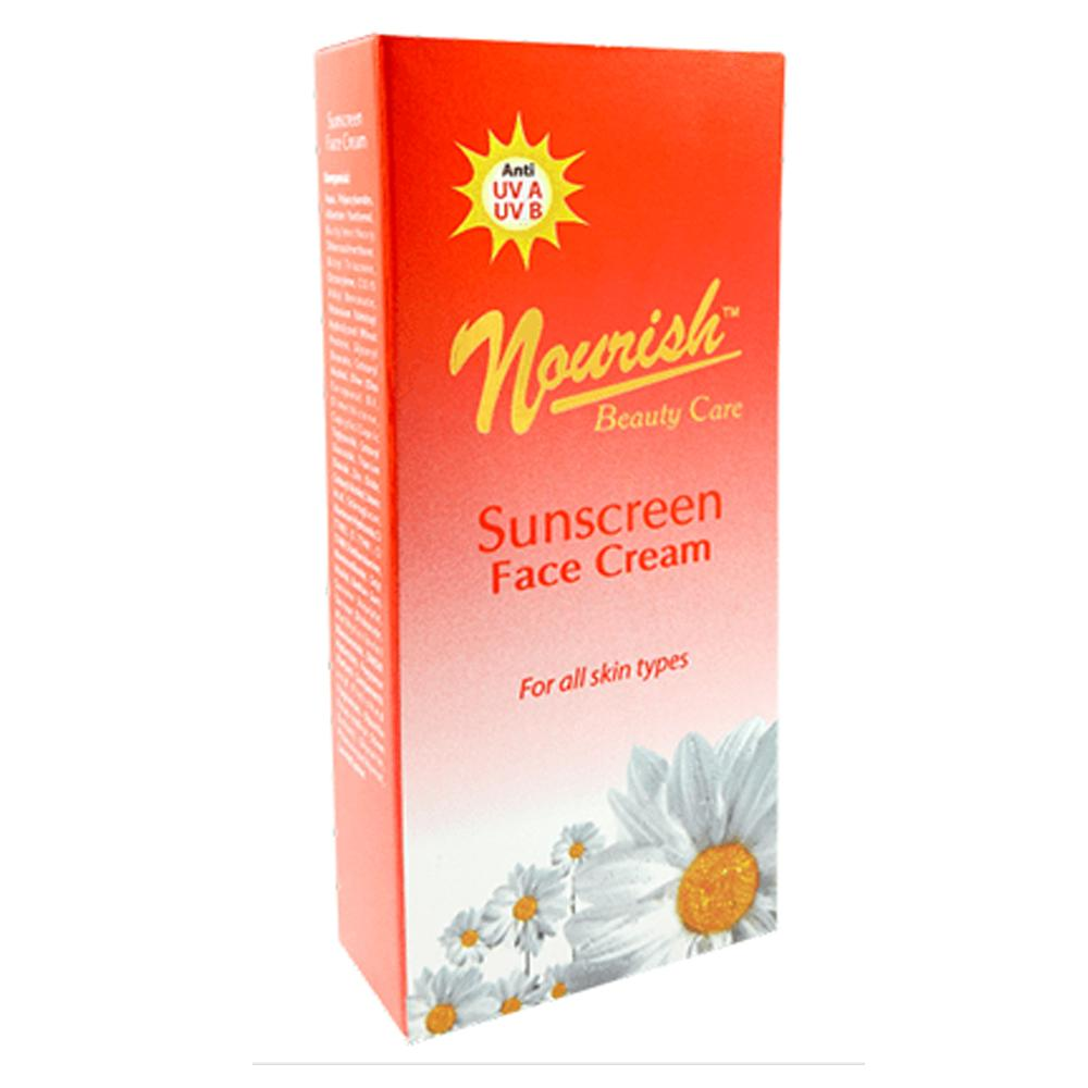 Delin Store - Nourish Beauty Care Sunscreen Face Cream 30 Gram