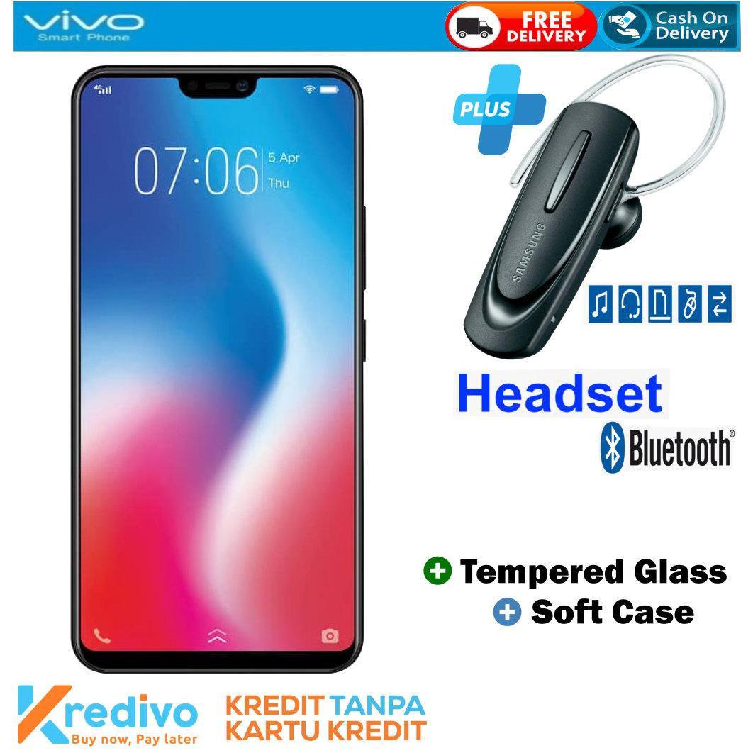 VIVO V9 4/64 - Gold Plus Headset Bluetooth