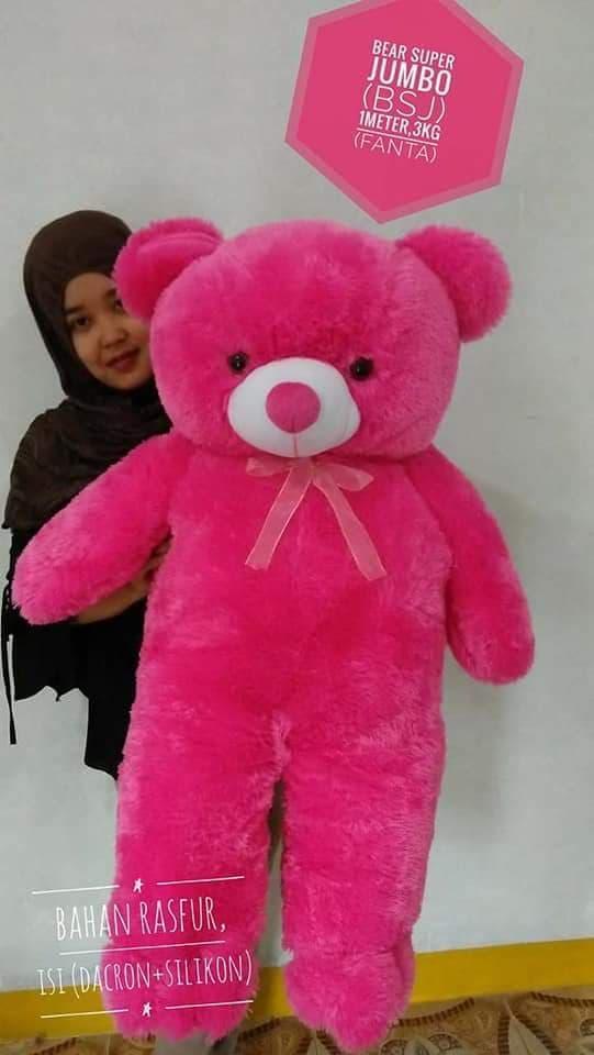 Syuka Kids Boneka Beruang Teddy Bear Besar Super Jumbo 120 Cm Sni ... ba5ad4b65e