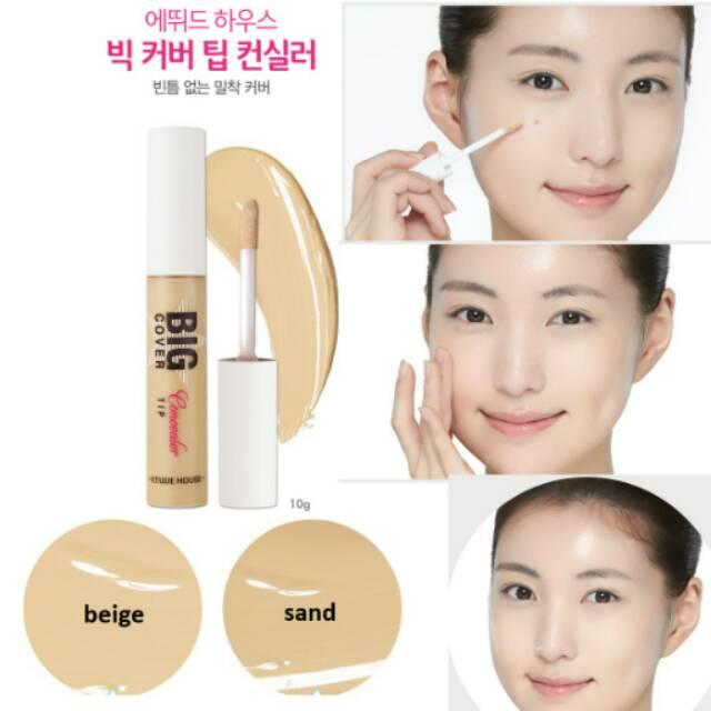 Harga Etude House Big Cover Essence Concealer Beige Online