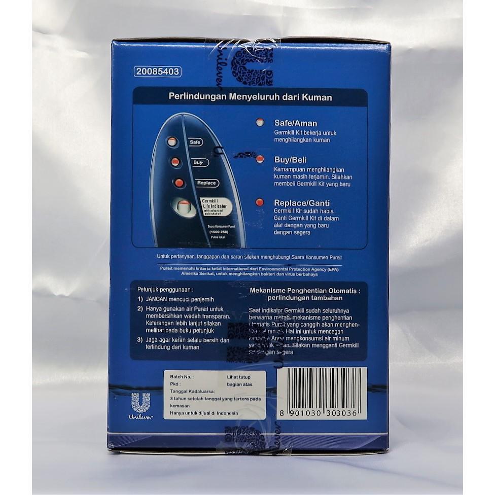Fitur Unilever Pureit Germkill Kit Classic 9l Refill 1 500l Variasi Water Purifier 1500l Tidak Ada 3