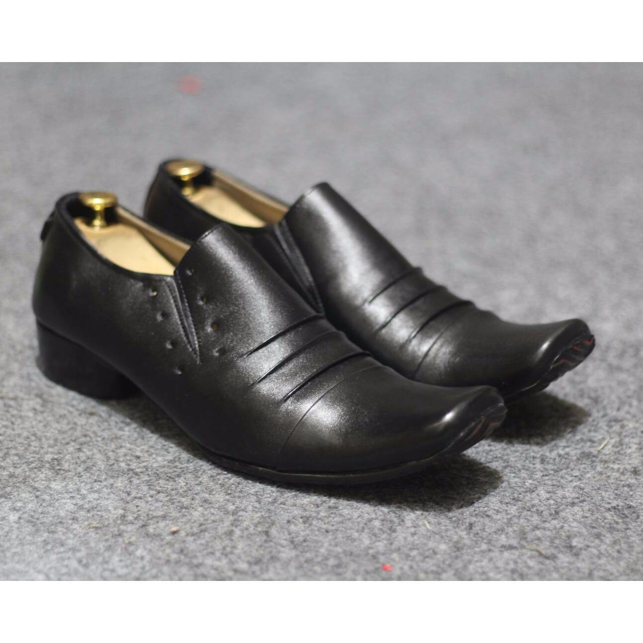 Harga Hemat B A E Weah Sepatu Pantofel Pria Formal Sepatu Kulit Asli Pria Pantofel