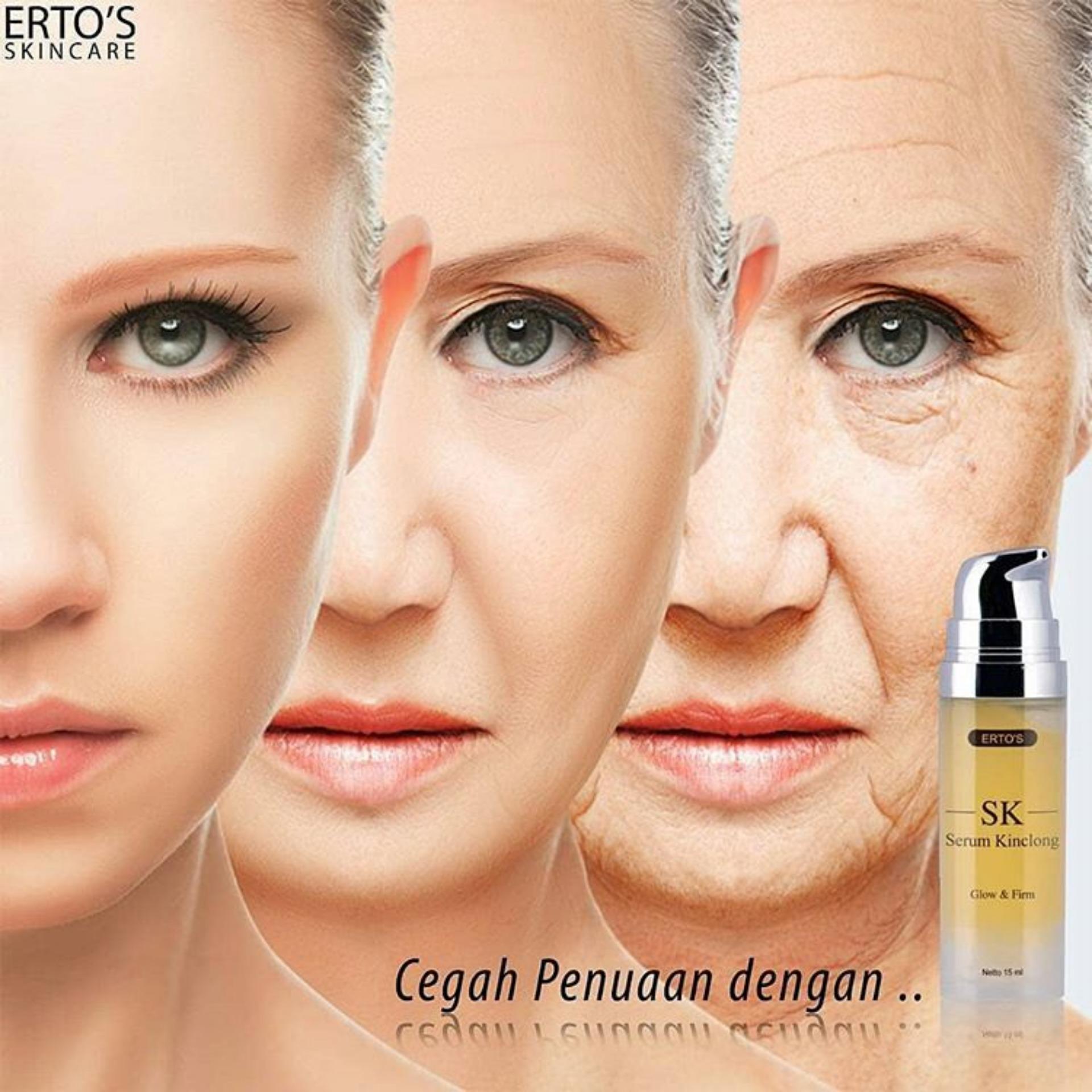 Fitur Ertos Original Paket Facial Treatment Serum Eyelash Detail Gambar Kinclong Sk Terbaru