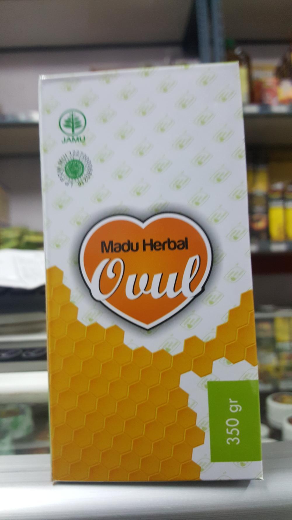 Madu Herbal OVUL Penyubur Kandungan di lapak KIOS BUNDA topmanagercilegon01