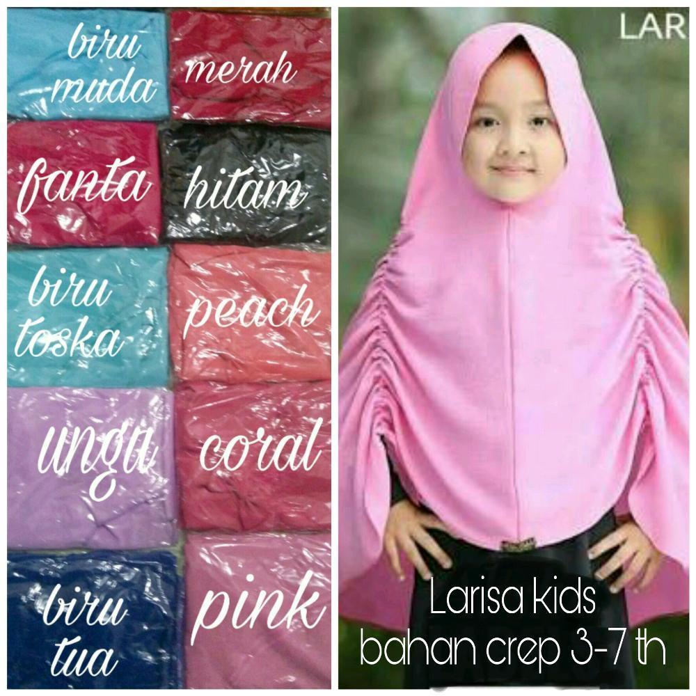 jilbab anak larisa kids- kerudung anak 3-7 th- hijab anak tanggung-khimar kids anak SD di lapak AF ONLINE 19yuniarti