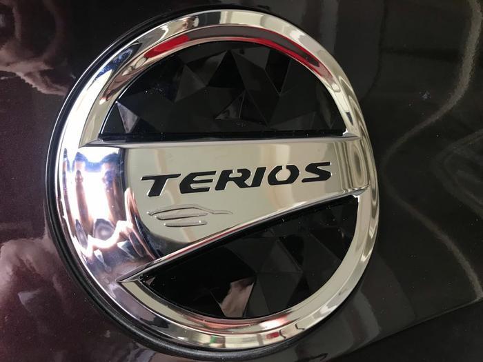 Tank Cover Tutup Tangki Bensin All New Terios 2018 Diamond Hitam
