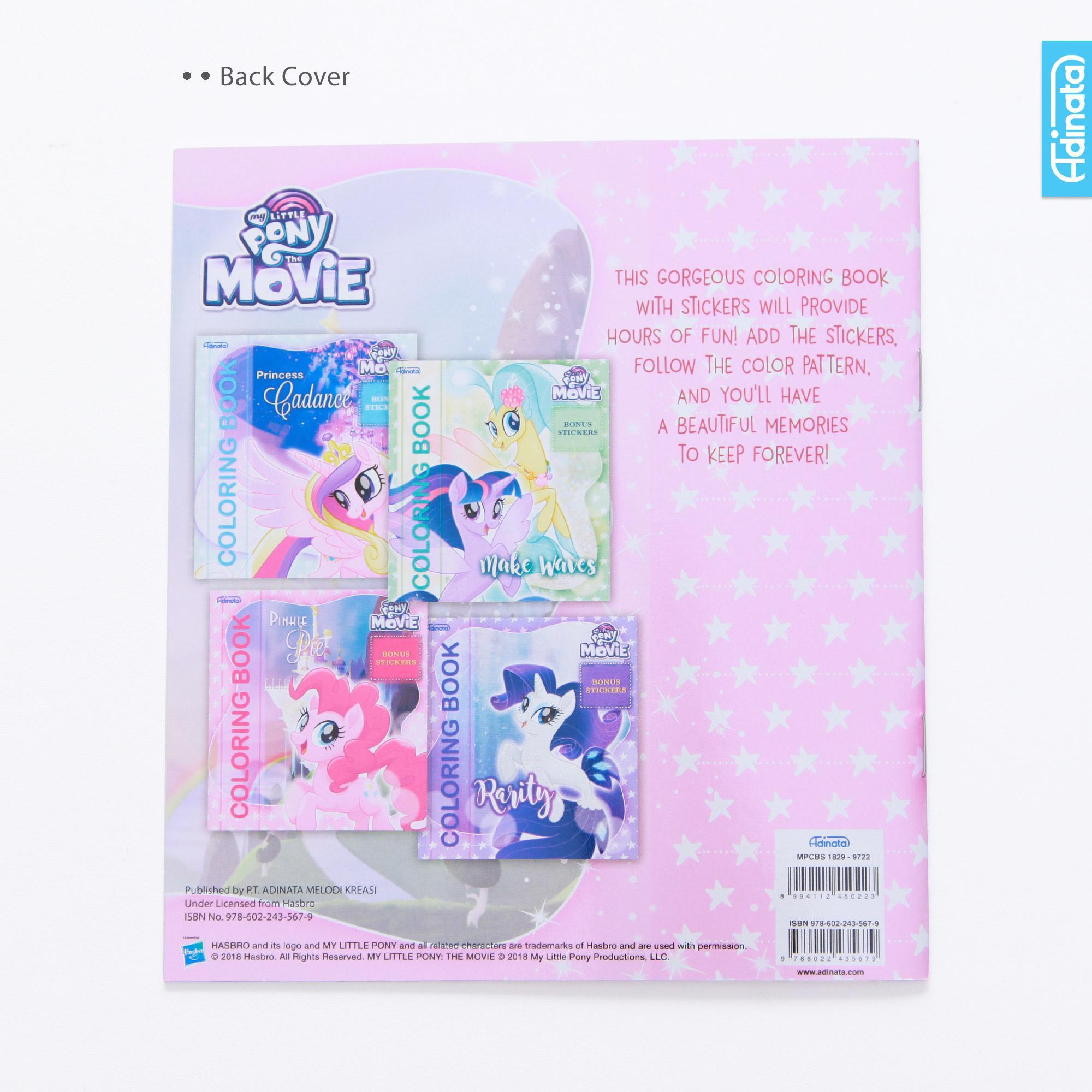 Cek Harga Baru My Little Pony Coloring Book S Adinata Buku Mewarnai
