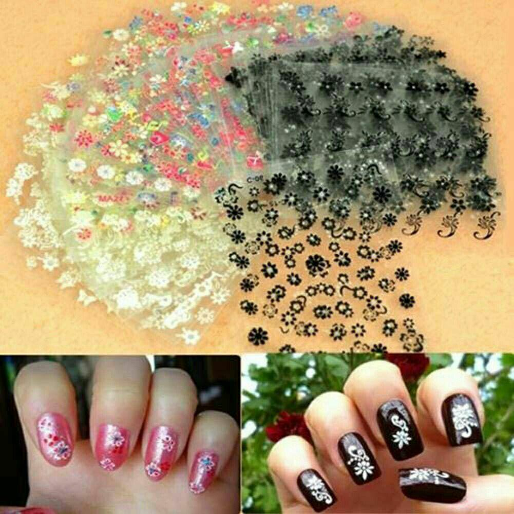 Sticker Kuku Nail Art Isi 8 pcs