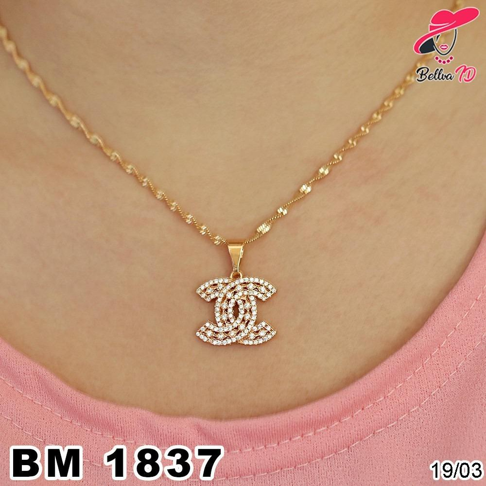 Kalung Xuping Chanel Gold M 1837