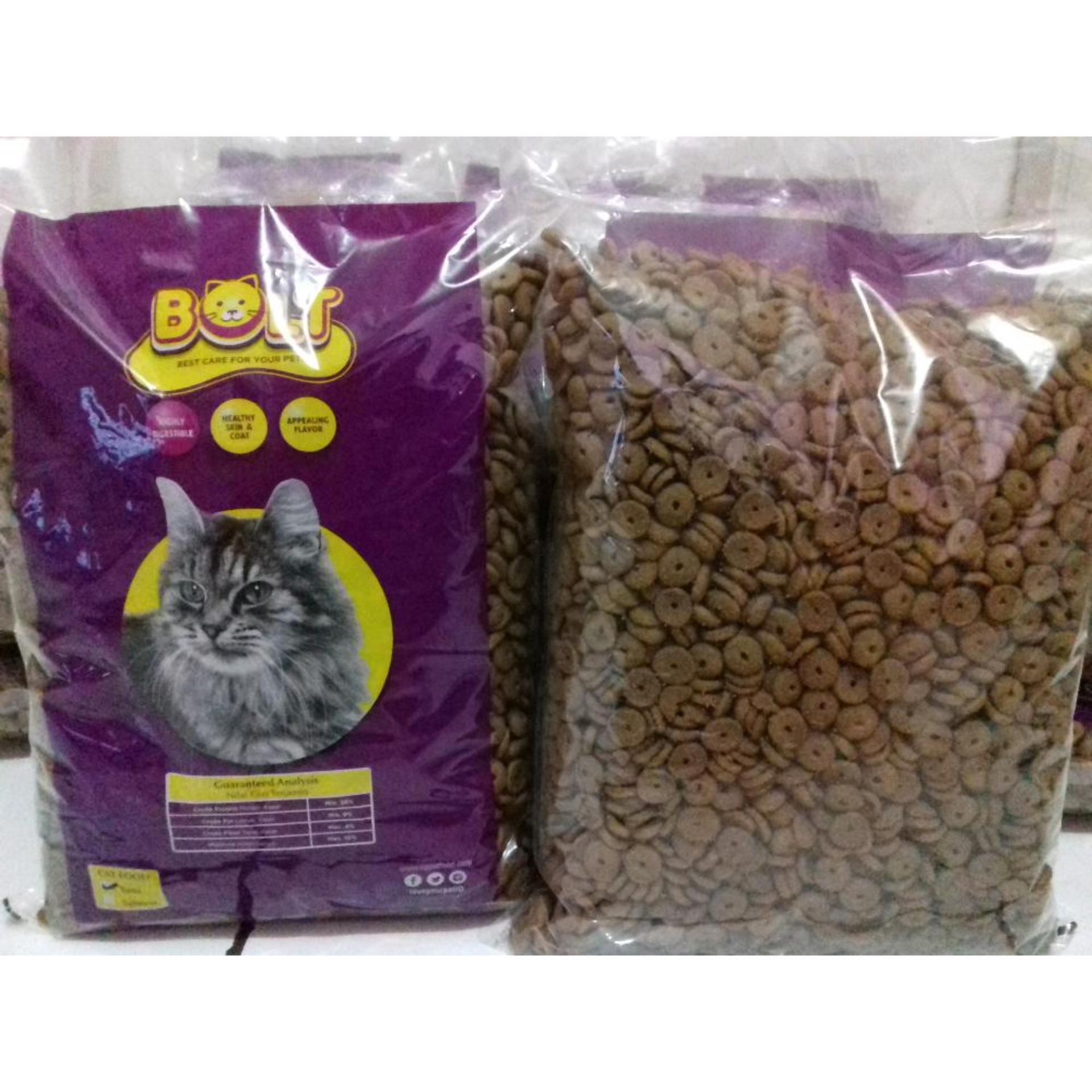 Kehebatan Beli 1 Geratis 2 Makanan Kucing Bolt Repack 1kg Dan Harga Maxi Cat Food Bentuk Donat Kg