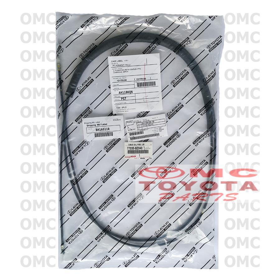 Kabel Tarikan Pembuka Tutup Tangki Bensin Rush Terios 77035-BZ040