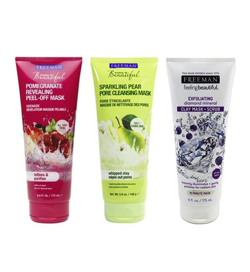 Detail Gambar FREEMAN'S FEELING BEAUTIFUL MASKS - SPARKLING PEAR PORE CLEANSING MASK Terbaru