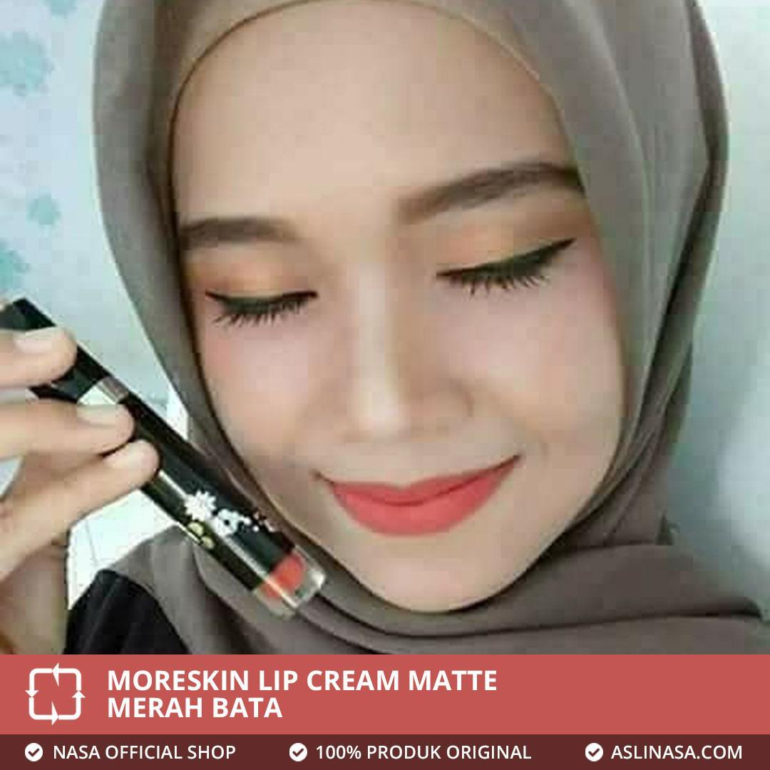 Features Moreskin Lip Cream Matte Warna Merah Bata Asli Nasa Dan Facial Cleanser Original Detail Gambar Terbaru