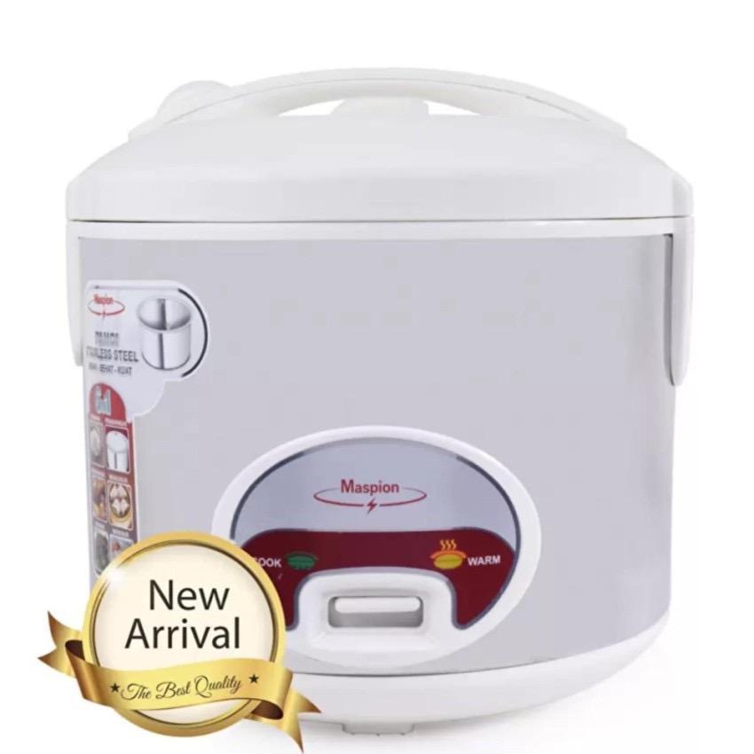 Gogo Grosir Maspion Magic Com,Rice Cooker,Penanak Nasi 1.2 Liter 350 Watt (Garansi Resmi Maspion) Silver – MRJ109SS
