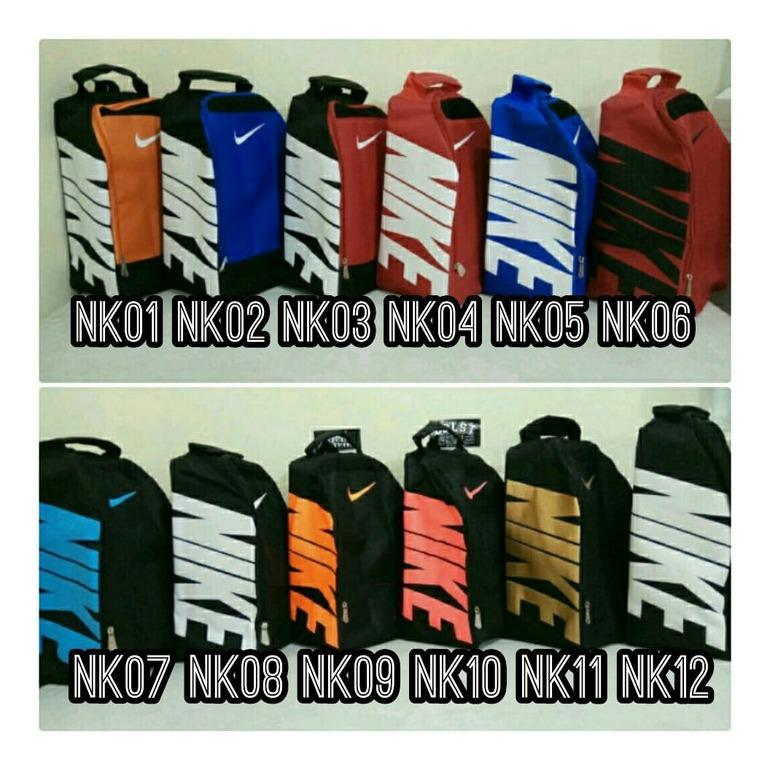 Tas Sepatu Futsal, Basket, Volly, Bola, Running Nike Adidas Puma