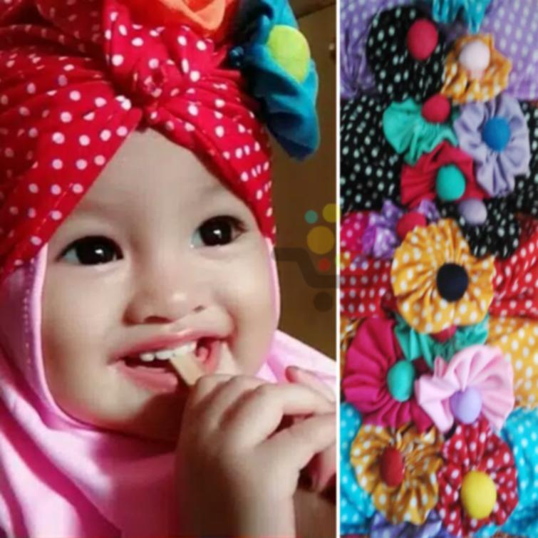 Review Jilbab Anak Arsy Turban Polka Hijab Anak Dan Harga Terbaru
