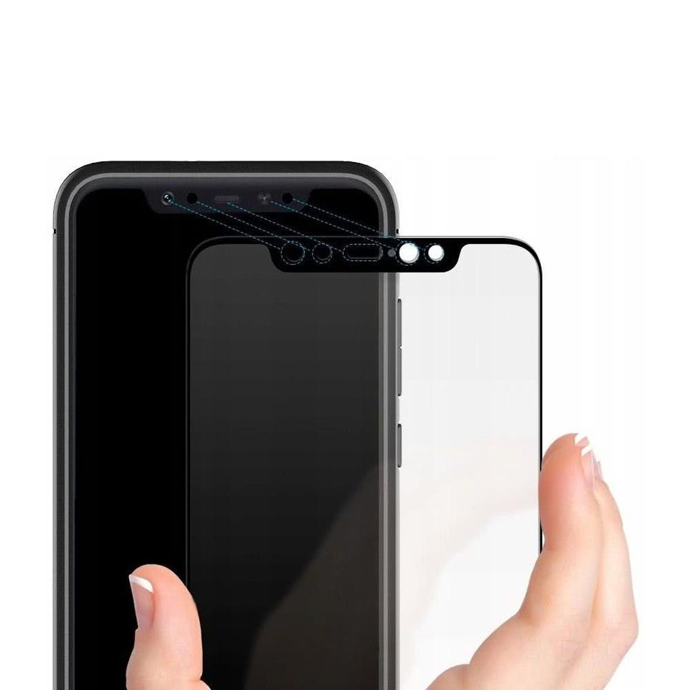 ... Spigen Xiaomi Mi 8 Tempered Glass Full Cover GLAS.tR - Black - 3 ...