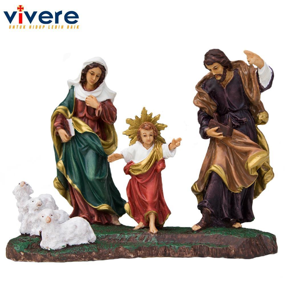 Pajangan Patung Keluarga Kudus Yesus